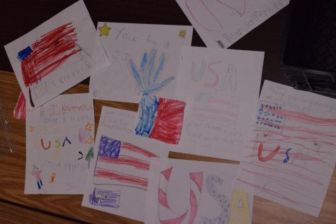 Students Exercise Writing Skills with Letters to the Troops Project