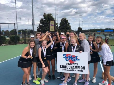Girls Tennis Wins State Championship