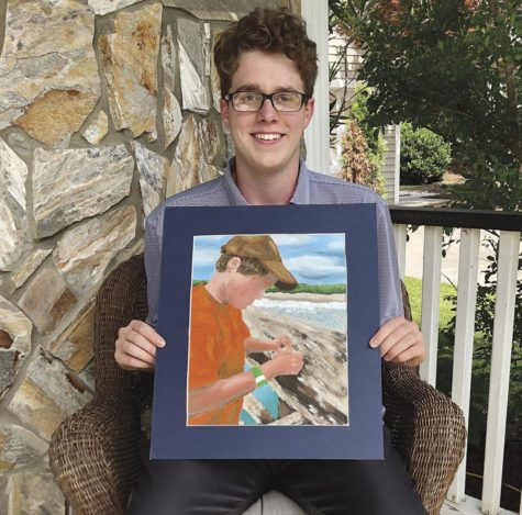 Senior Dawson Bell Wins District Art Award