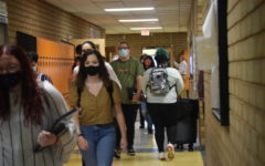 The hallways are more crowded than usual, especially during passing periods