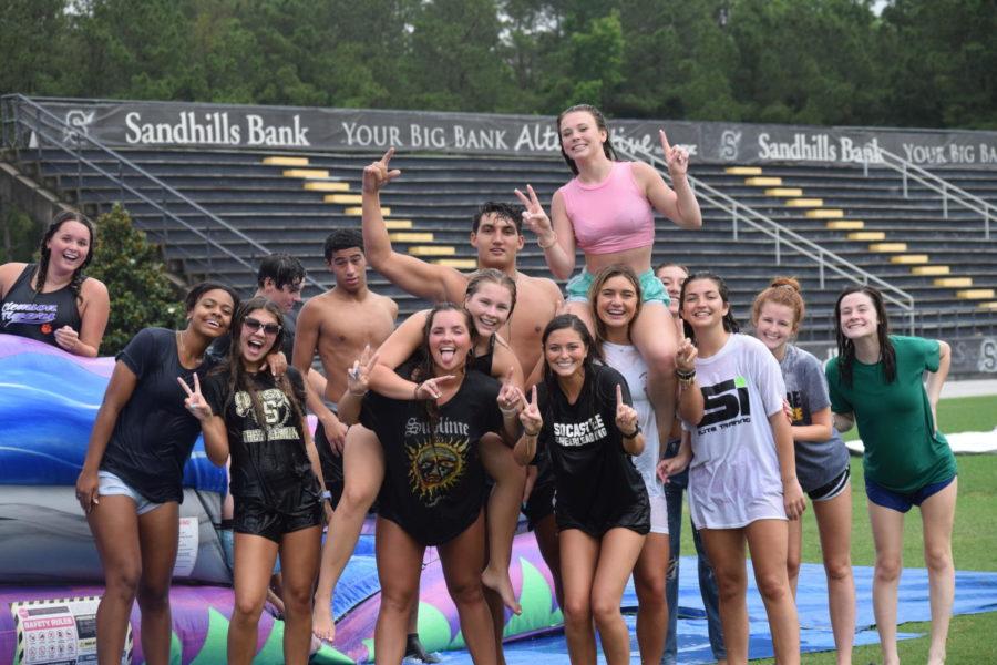 Seniors End Year Soaked in Fun