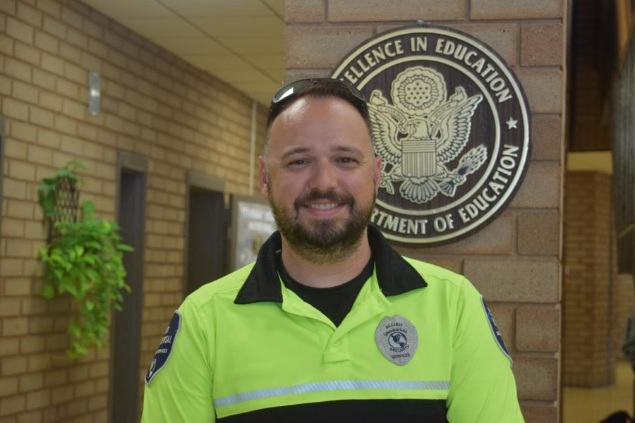 Officer Chris Berry is Socastees School Resource Officer.